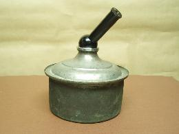 ANTIQUE COOPER COOKER, EYEPIECE MONOCULAR HEAD